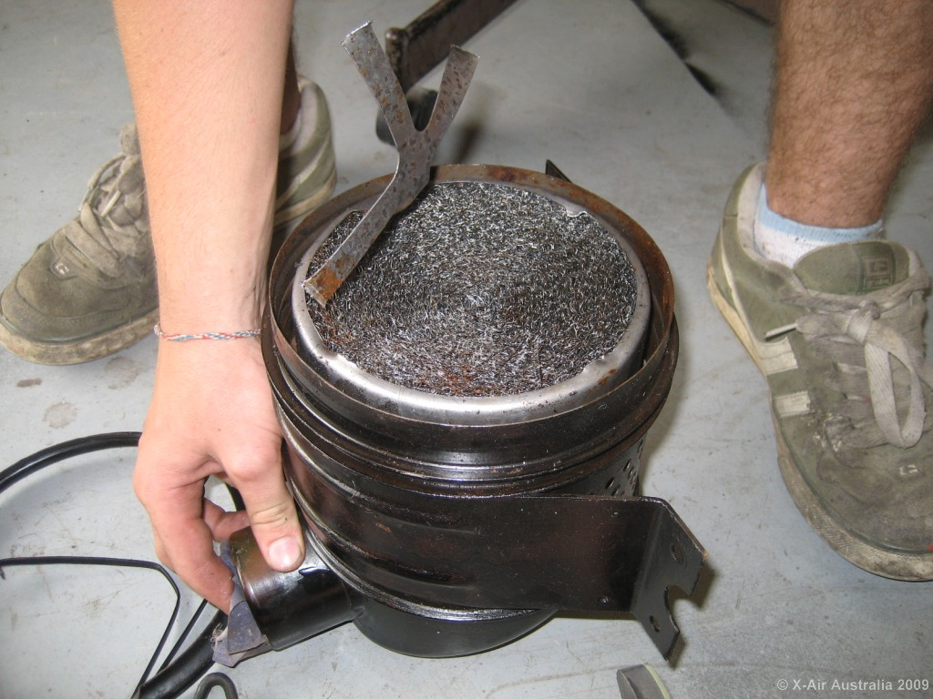 Willys Oil Bath Air Cleaner : The cj a page forum donaldson air filter disassembly