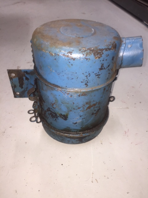 Jeep Oil Bath Air Cleaner : The cj a page forum for sale original air cleaner