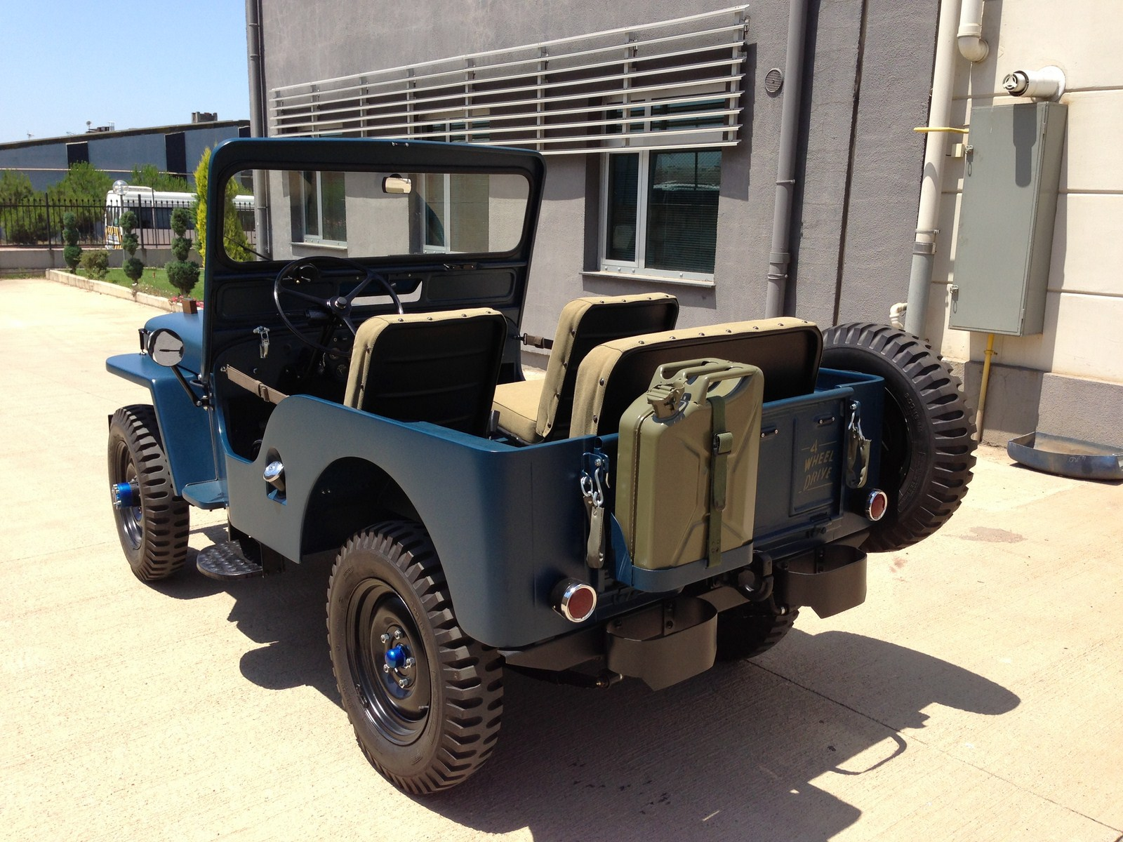 1951 Owners Photos Willys Jeep Rear Seat