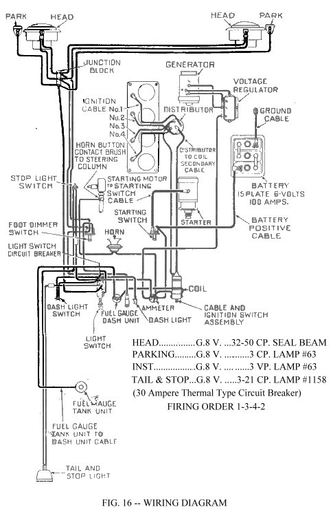 1947 dodge headlight switch wiring diagram  dodge  auto