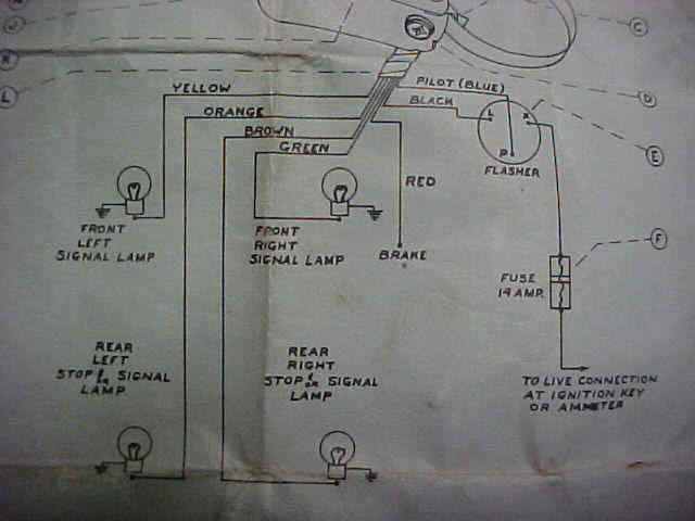 wiring diagrams turn signal wiring diagram for 7 wire